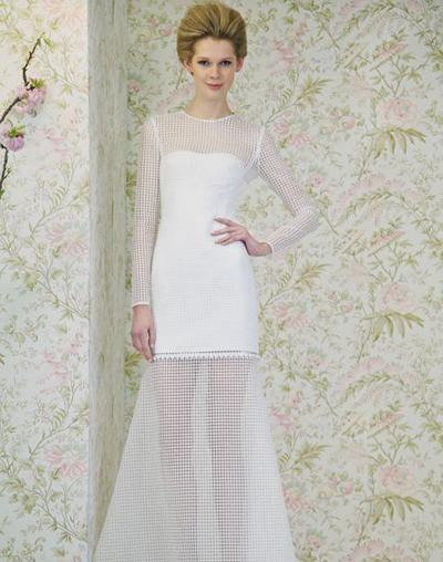 بالصور فساتين العروس انواع عجيبة وجميلة لملابس العرائس 18 42