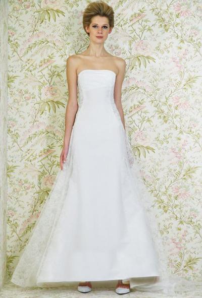بالصور فساتين العروس انواع عجيبة وجميلة لملابس العرائس 18 44