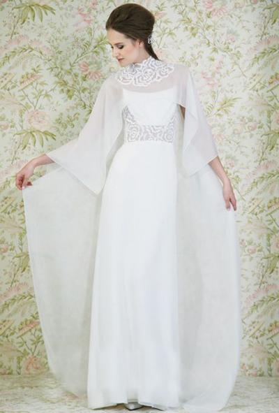 بالصور فساتين العروس انواع عجيبة وجميلة لملابس العرائس 18 46