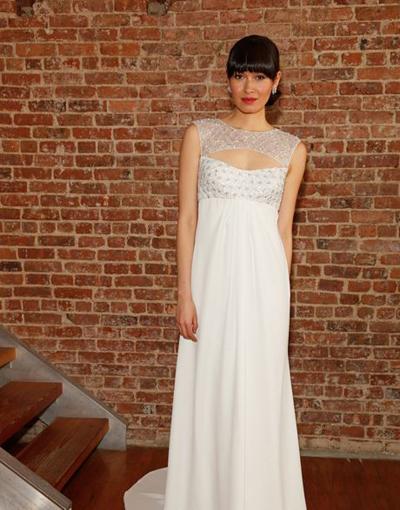 بالصور فساتين العروس انواع عجيبة وجميلة لملابس العرائس 18 48