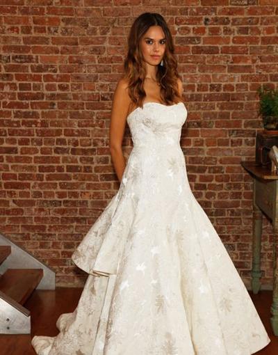 بالصور فساتين العروس انواع عجيبة وجميلة لملابس العرائس 18 50