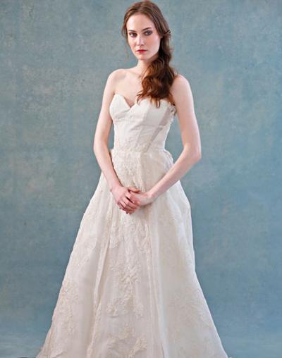 بالصور فساتين العروس انواع عجيبة وجميلة لملابس العرائس 18 52