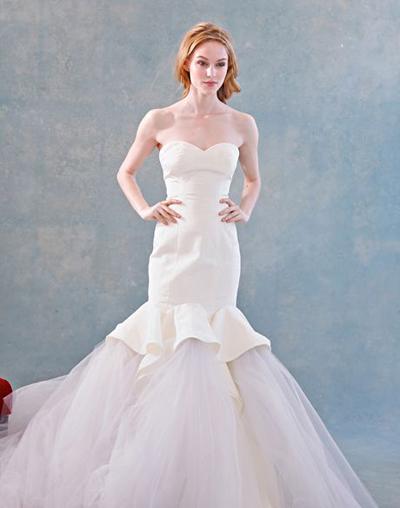 بالصور فساتين العروس انواع عجيبة وجميلة لملابس العرائس 18 53