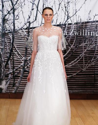 بالصور فساتين العروس انواع عجيبة وجميلة لملابس العرائس 18 55