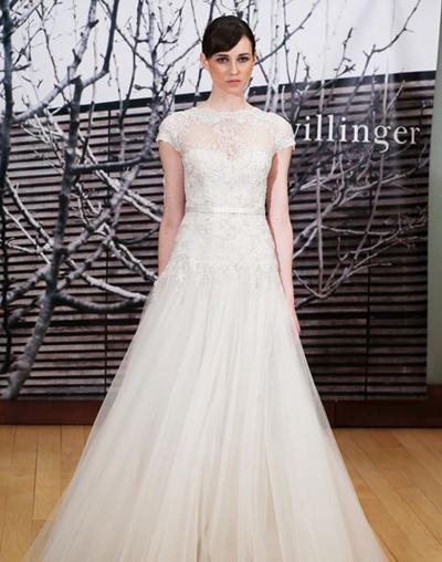 بالصور فساتين العروس انواع عجيبة وجميلة لملابس العرائس 18 57