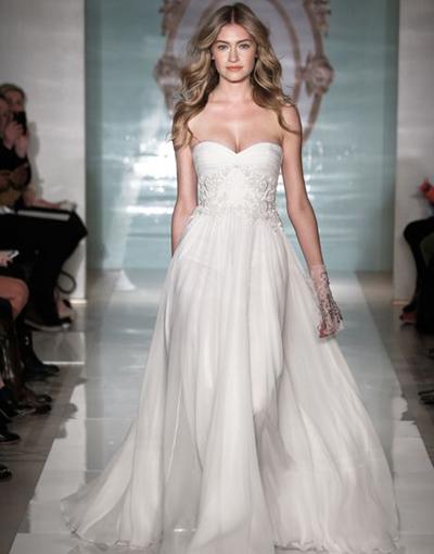 بالصور فساتين العروس انواع عجيبة وجميلة لملابس العرائس 18 61