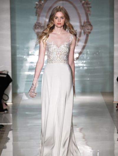 بالصور فساتين العروس انواع عجيبة وجميلة لملابس العرائس 18 62
