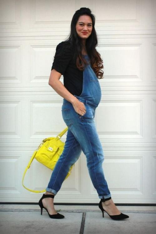صورة اجمل ازياء للحوامل نعم انها تحف فنية للحامل