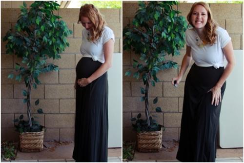 بالصور اجمل ازياء للحوامل نعم انها تحف فنية للحامل 22 11