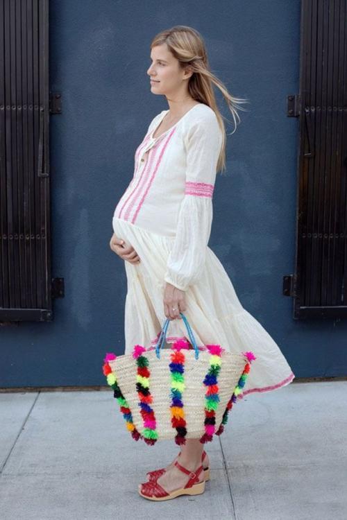 بالصور اجمل ازياء للحوامل نعم انها تحف فنية للحامل 22 3
