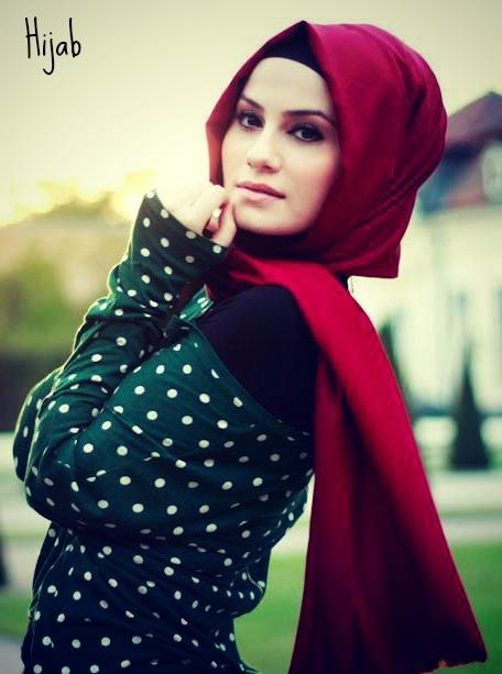 بالصور اجمل الحجابات للبنات تاج ملائكي لكل محجبة 23 5