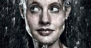 لوحات فنية رسمها المطر , اجمل الصور لرسمات المطر بقطراته
