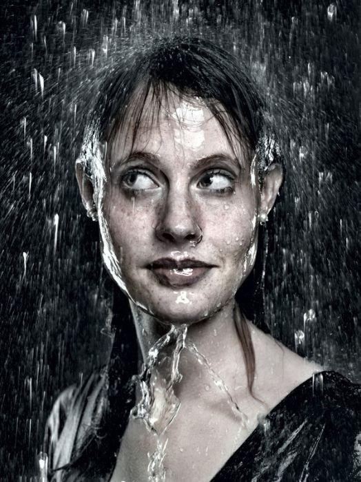 صوره لوحات فنية رسمها المطر     ,   اجمل الصور لرسمات المطر بقطراته