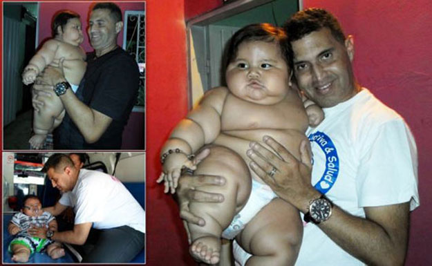 بالصور اكبر طفل بالعالم   ,صور مميزه لاضخم واكبر الاطفال فى العالم 1535 3