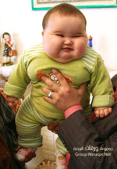 بالصور اكبر طفل بالعالم   ,صور مميزه لاضخم واكبر الاطفال فى العالم 1535 5