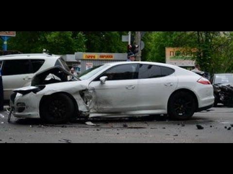 بالصور صور حادث بورش ,حادث مؤسف بسياره بورش 1580 8
