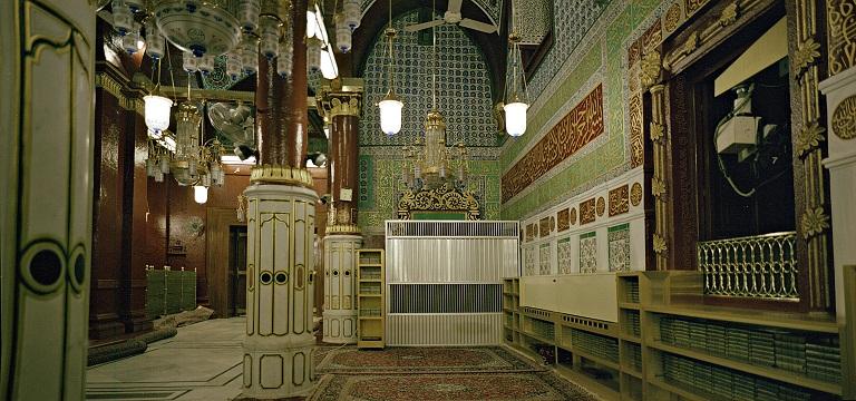 بالصور المسجد النبوي الشريف , من الداخل والخارج 2018 1