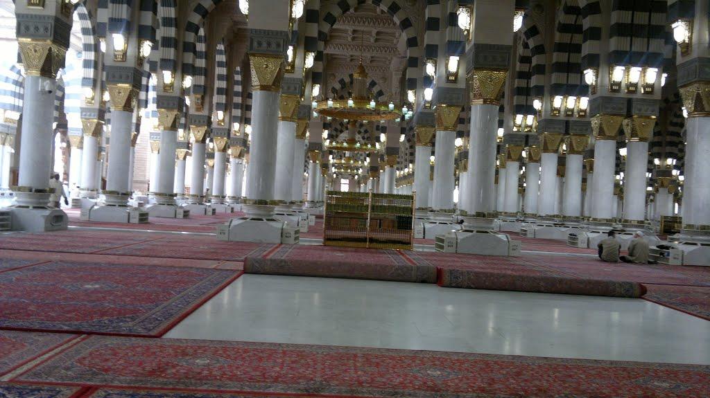 بالصور المسجد النبوي الشريف , من الداخل والخارج 2018 6
