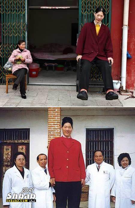 بالصور اطول امراة بالعالم , حسب موسوعة غينيس 2056 11