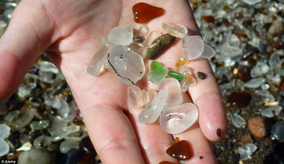 صوره صور شاطئ الزجاج , والطبيعة الخلابة