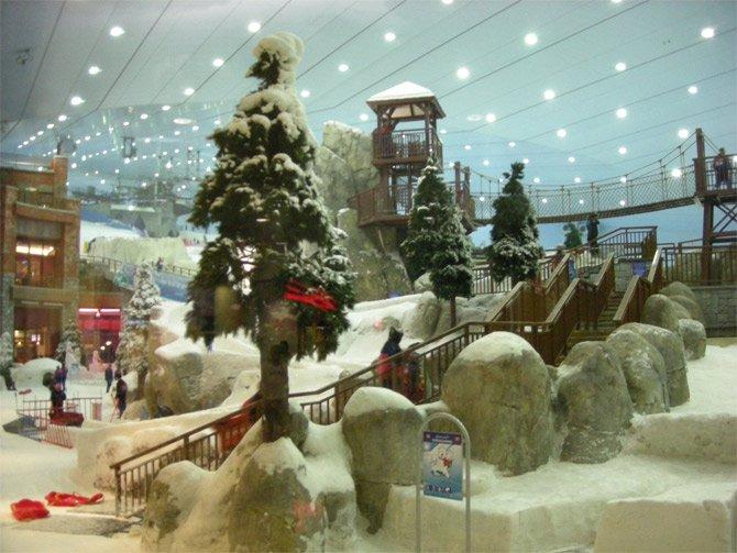 بالصور المدينه الثلجيه في دبي , متعة الاثارة والتشوق 2093 1