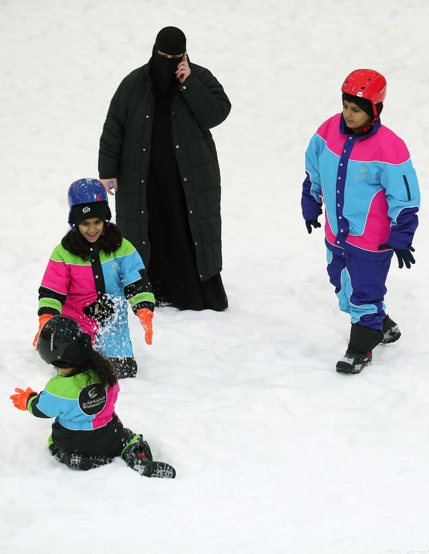 بالصور المدينه الثلجيه في دبي , متعة الاثارة والتشوق 2093 8