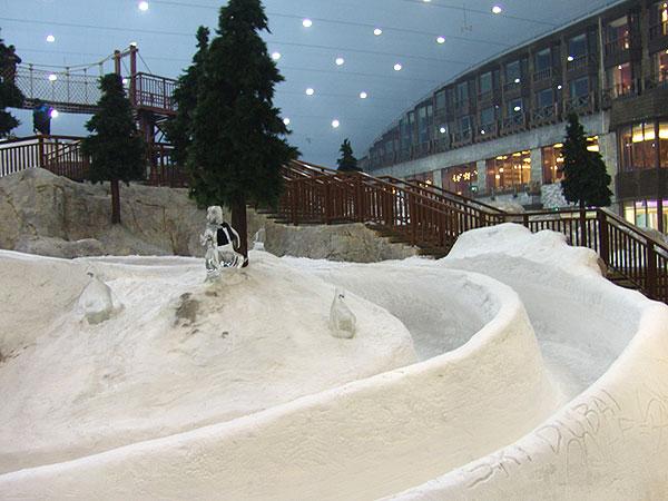 صوره المدينه الثلجيه في دبي , متعة الاثارة والتشوق