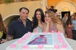 بالصور صور عيد ميلاد بنت غادة عبد الرازق 285 3
