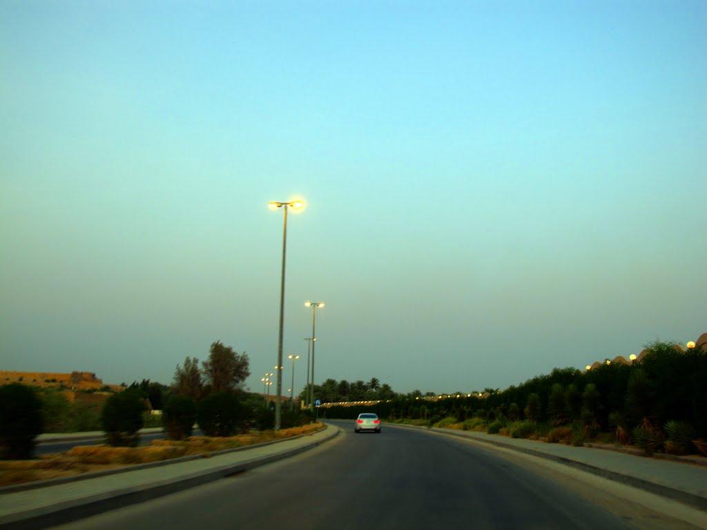 صورة منتزه وادي حنيفه في الرياض