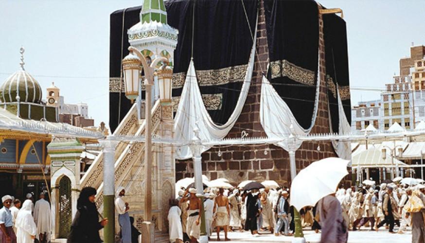 بالصور صور نادرة للحرم المكي , اطلالة ايمانية بالصور على الكعبة 3534 9
