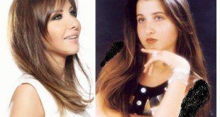 نانسي عجرم قبل عمليات التجميل