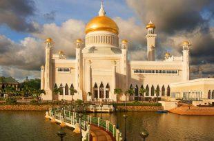 صورة شوف اروع مساجد العالم مسجد السلطان عمر علي سيف الدين بالصور