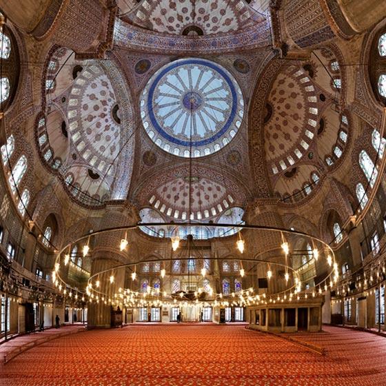بالصور شوف اروع مساجد العالم مسجد السلطان عمر علي سيف الدين بالصور 465 8