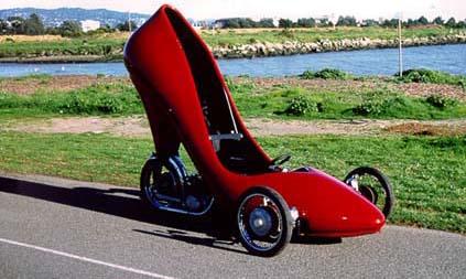 صورة سيارة على شكل كعب , اجمد صور سيارة على شكل كعب
