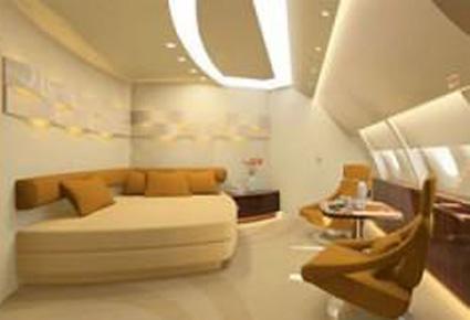 بالصور طائرة الوليد بن طلال الجديدة القصر الطائر 507 2