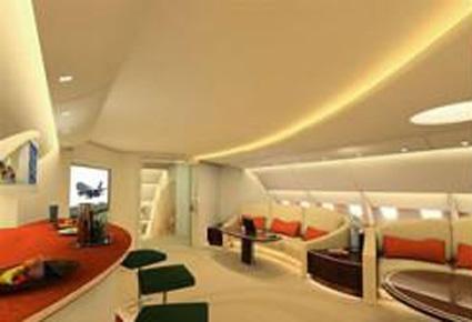 بالصور طائرة الوليد بن طلال الجديدة القصر الطائر 507 3