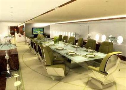 بالصور طائرة الوليد بن طلال الجديدة القصر الطائر 507 4