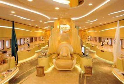 بالصور طائرة الوليد بن طلال الجديدة القصر الطائر 507 6