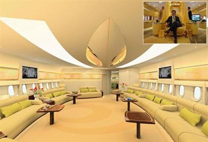 بالصور طائرة الوليد بن طلال الجديدة القصر الطائر 507 8