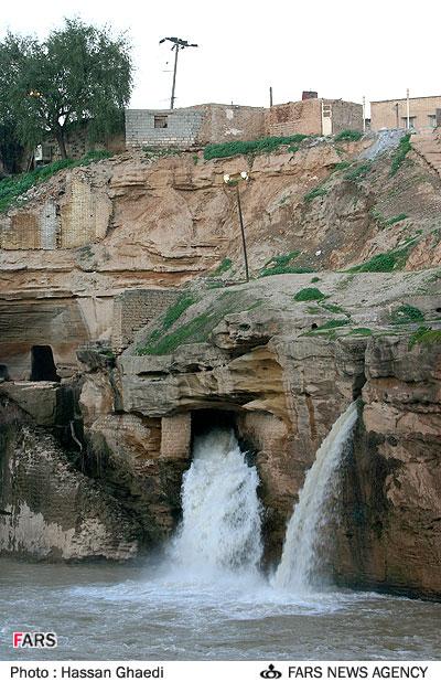 بالصور مدينة ايرانية تجري من تحتها الانهار 528 10