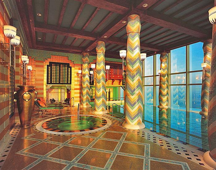 بالصور صور قصر الملك فهد تحت الماء 530 2