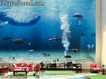 بالصور صور قصر الملك فهد تحت الماء 530 4