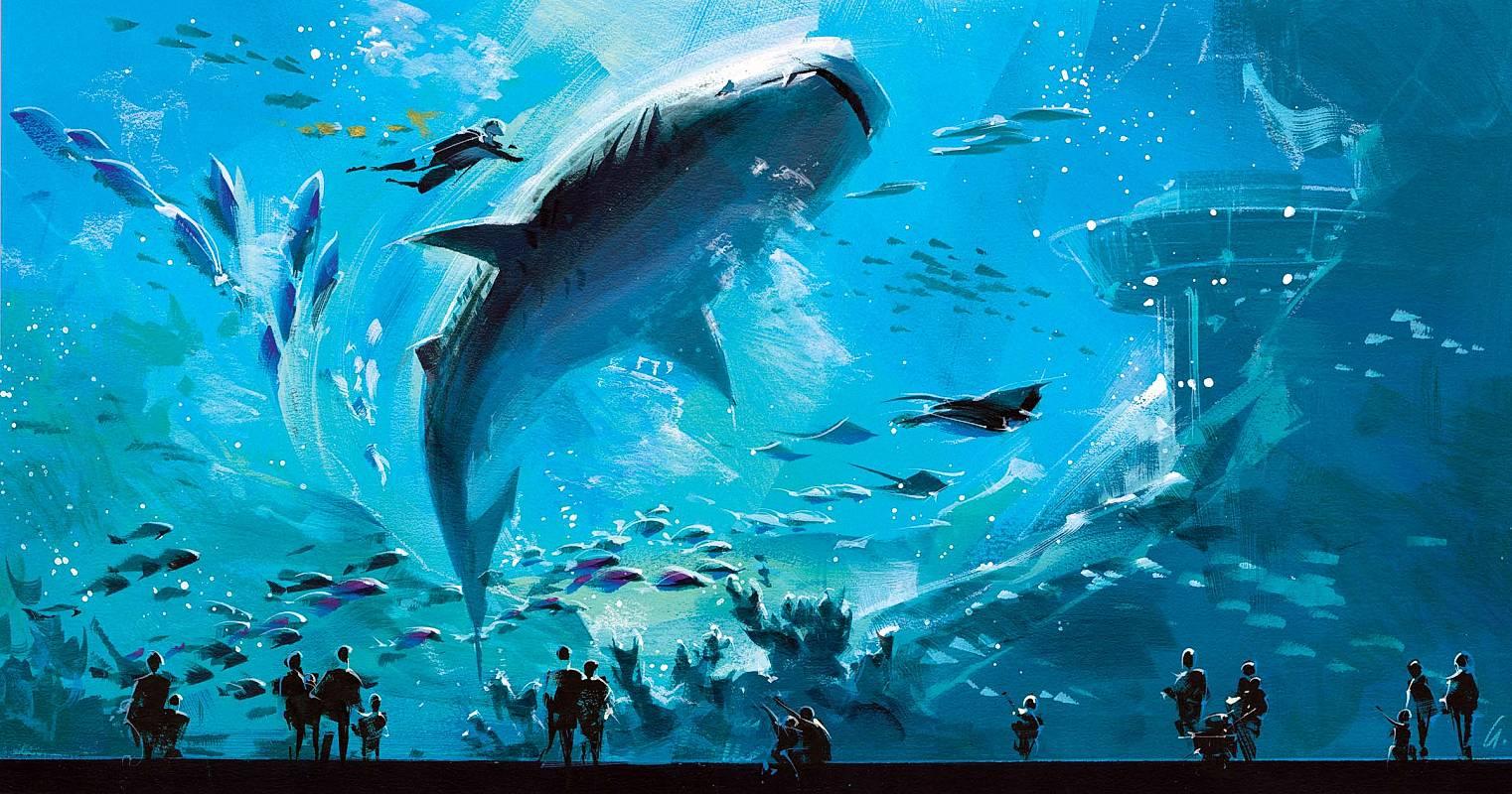 بالصور اكبر حوض اسماك في العالم , احلى انواع الاسماك 677 5