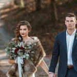 فساتين زفاف للشتاء , موضه