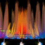 نوافير مياه ملونه , اروع نافورة ملونة راقصة
