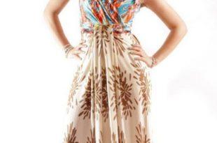صورة فساتين مزركشة انيقة , اجمل ما يمكن ارتداءه من الملابس المزركشه