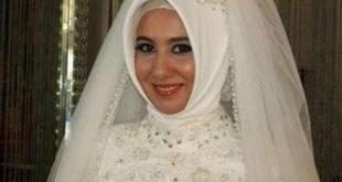 احدث حجاب للعرايس انيقة , اروع حجابات للعروسة