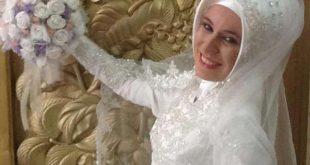 لفات طرح للعرايس المحجبات راقية , هذا ماتبحث عنه كل عروس