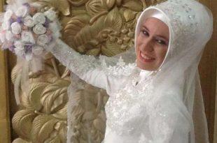 صوره لفات طرح للعرايس المحجبات راقية , هذا ماتبحث عنه كل عروس