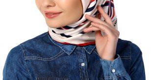 صورة لفات حجاب تركى تجنن , احدث لفات الحجاب